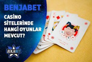 casino sitelerinde hangi oyunlar mevcut
